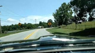 67 GTO - cruising - 400 with glasspacks
