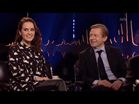 Downton Abbeystjernen Michelle Dockery viser sitt skjulte talent