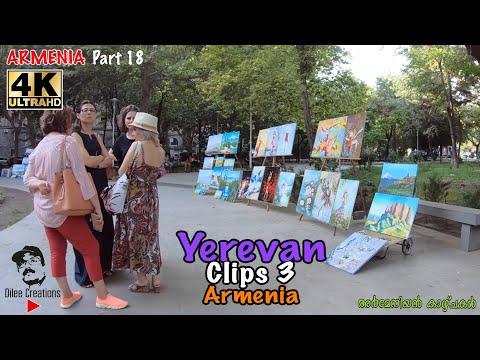 Walking In Yerevan   Ереван   Երևան   Armenia   4K   Dilee