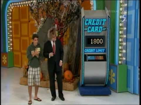 The Price Is Right - Last Aired Playing of Credit Card