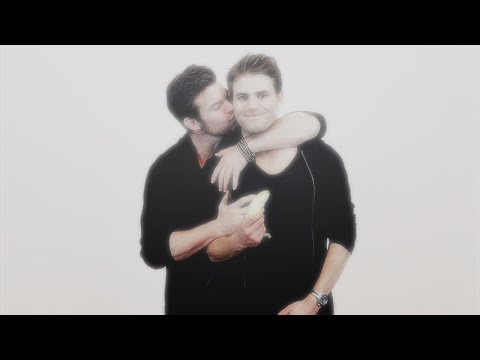 Daniel Gillies and Paul Wesley