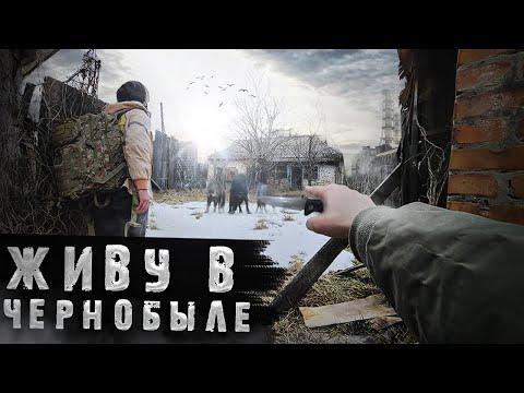 Что будет если жить в Чернобыле? Волки пришли к дому посреди ночи. Выживание в Зоне Отчуждения