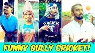 Funny Gully Cricket Scenes ft. Pichi Yakuu || Warangal Diaries