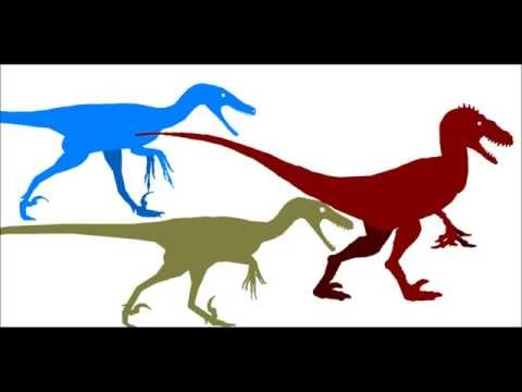 Utahraptor vs Deinonychus vs Velociraptor