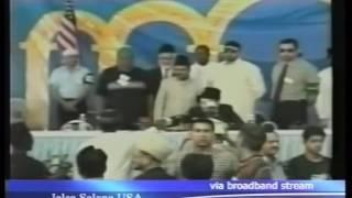 Concluding Address by Hazrat Sahibzada Mirza Muzaffar Ahmad Jalsa Salana, America 2002