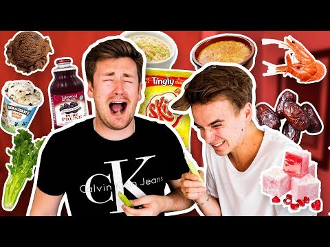 TRYING FOODS JOE SUGG HAS NEVER LIKED