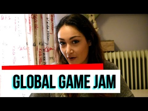 VLOG: GLOBAL GAME JAM 2017-ATHENS (Μια μέρα γεμάτη Gaming!)