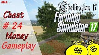 Farming Simulator 17 | Gameplay #24 - La money cheat Box ! [HD][PS4]