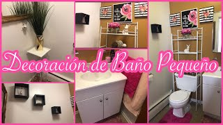 IDEA PARA DECORAR BAÑO PEQUEÑO /IDEAS PARA DECORAR/DECORANDO MI BAÑO #Ideas #Decoracion