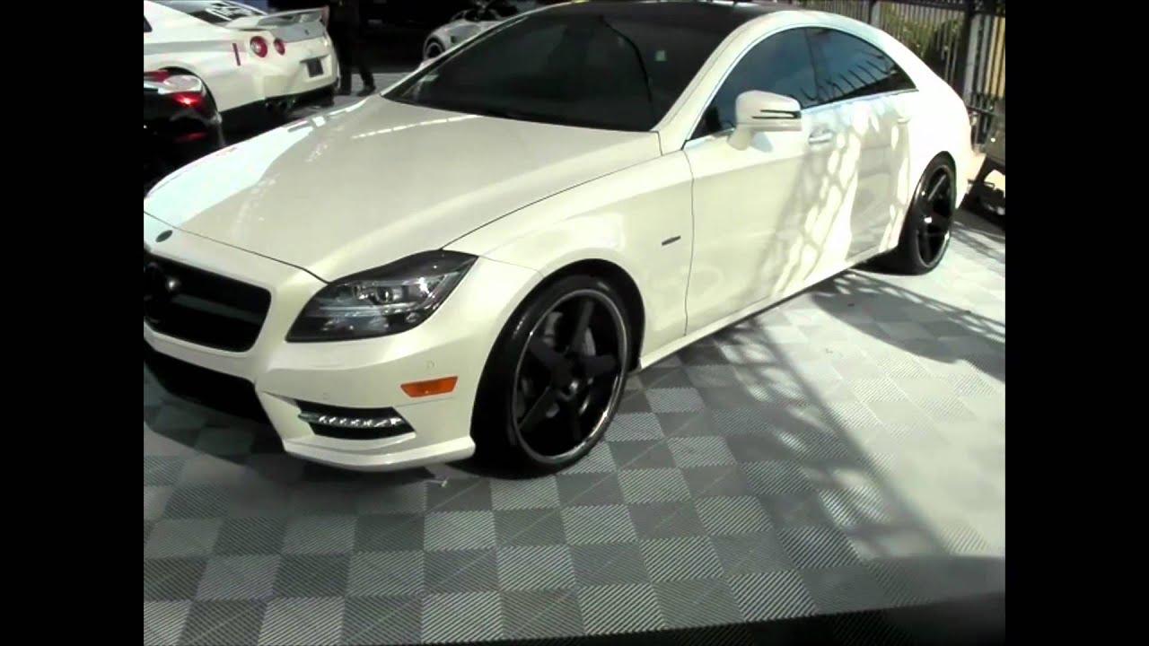Dubsandtires Com 2012 Mercedes Cls 550 Review 20 Inch