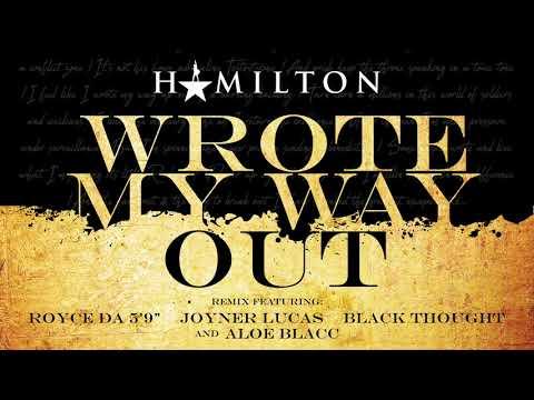 "Royce Da 5'9"", Joyner Lucas & Black Thought Wrote My Way Out (Remix Ft. Aloe Blacc) Artwork"