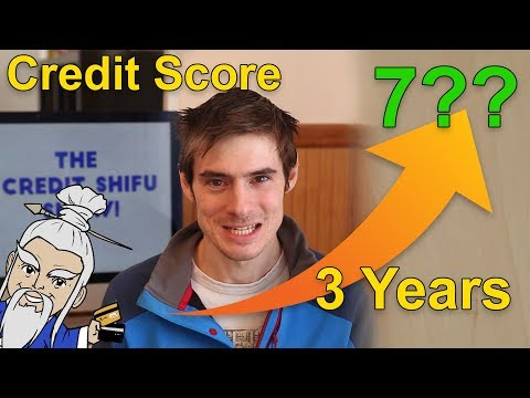 What's My Credit Score? (2018, 3-years building credit)