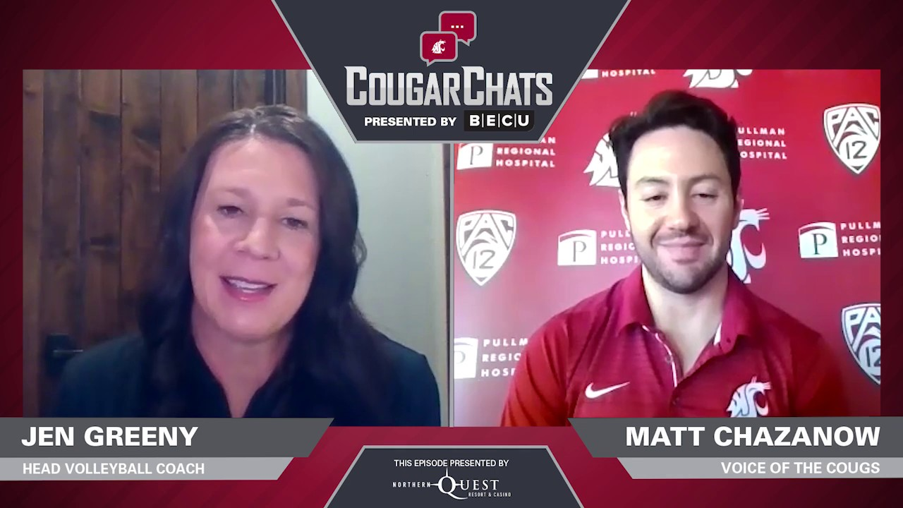 Image for WSU Athletics: Cougar Chats with Coach Jen Greeny webinar