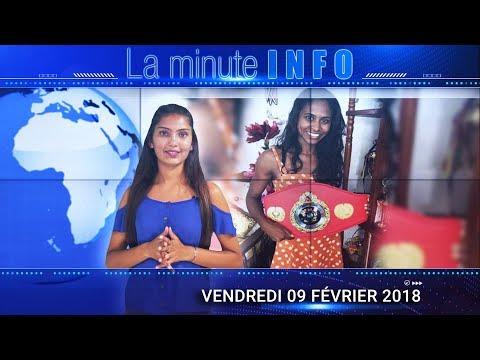 LaMinuteInfo: La compétition de Muay Thai de Ranini Cundasawmy pas reconnue