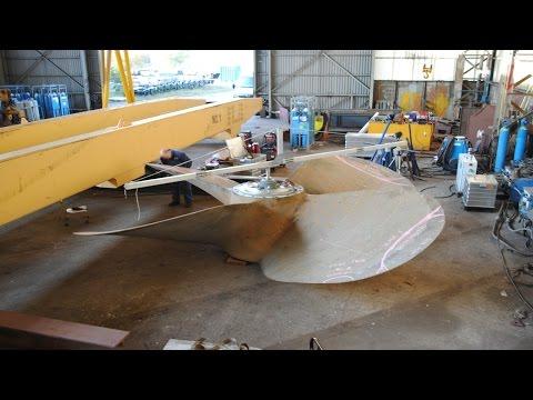 MPR propeller repair in Antwerp, Belgium