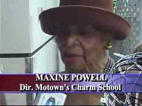 Maxine Powell - Former Director of Motown Charm School