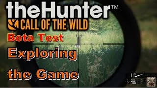 thehunter call of the wild beta   exploring the game