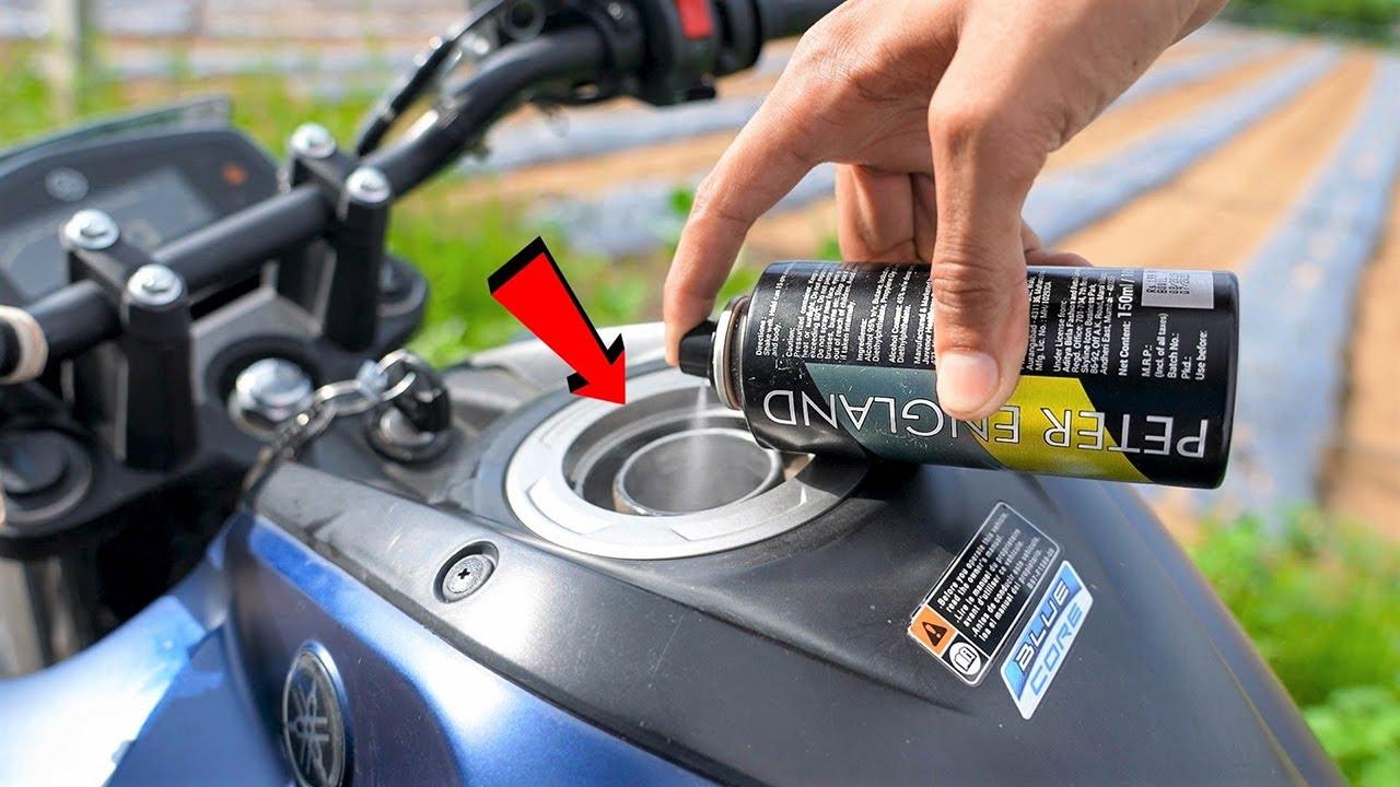 Running Bike On Deodorant Spray | परफ्यूम स्प्रे से चलायी गाड़ी | 100% Working Trick