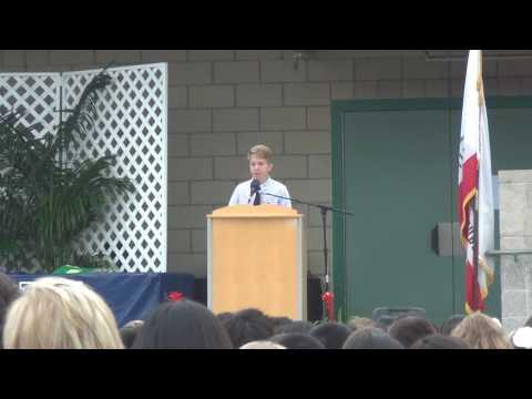 June 9th-2016 Victor's graduation speech