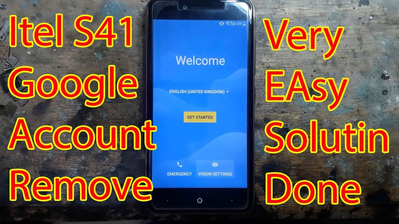 Itel S41 FRP Google Account Bypass Solution Done|