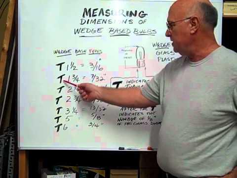 T5 Glass Wedge Base Bulb Identification Youtube