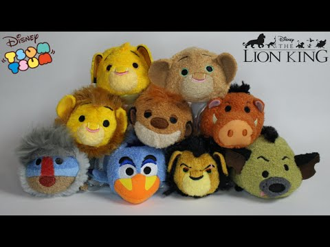 Disney 39 s the lion king tsum tsum collection valentine candy box youtube for Tsum tsum watch