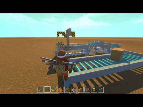Scrap Mechanic - Useless Conveyor Loop! (@ 20FPS!)