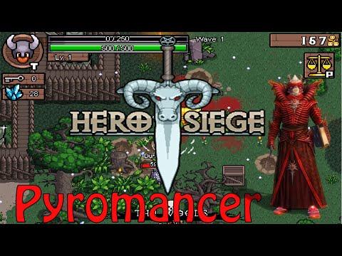 Hero Siege Отмеченный огнем Pyromancer v1.3.1.7