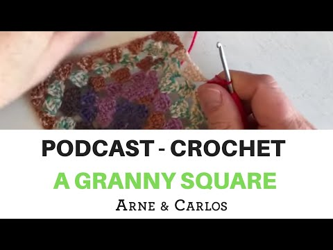 ARNE & CARLOS talk about design, inspiration, color as they crochet a granny square.