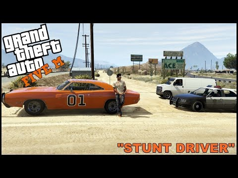 GTA 5 ROLEPLAY - GENERAL LEE STUNT DRIVER  - EP. 333 - CIV
