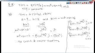 Design and Analysis of Algorithms 29-01-2019