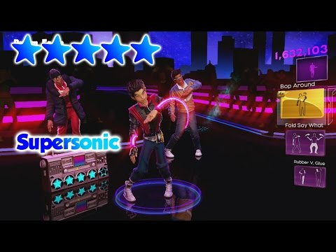 Dance Central 3 - Supersonic - 5 Gold Stars