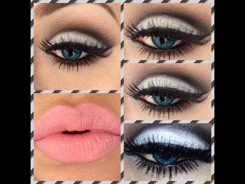 tutorial de maquillaje look blanco negro y cafe juancarlos