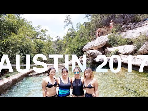 Austin 2017 vlog : Krause Springs and Jacob's Well