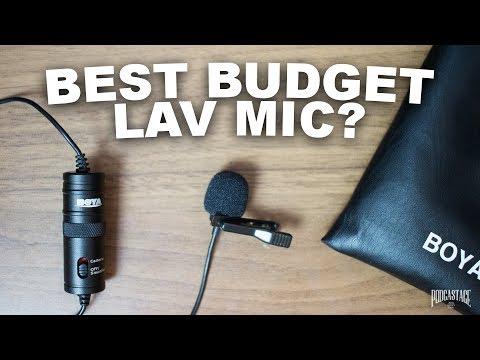 BOYA BY-M1 Lavalier Mic Review / Test