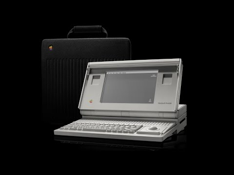 A Look At The First Apple Laptop: Macintosh Portable & Comparison To MacBook Pro