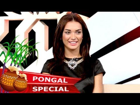 Actress Amy Jackson in Star Junction - Pongal Special (16/01/2015)