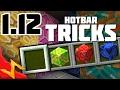 Minecraft 1.12 Hotbar & Inventory Tips & Tricks