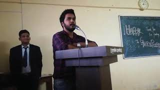 Speech by SAURABH yadav