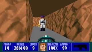 Wolfenstein 3D - Episode 4, Floor 10