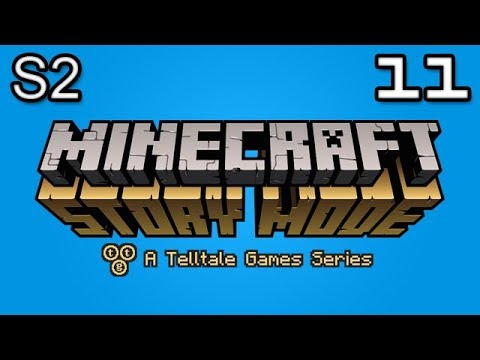 Minecraft Story Mode Let's Play: S2E4 Part 1 - Beneath the Bedrock