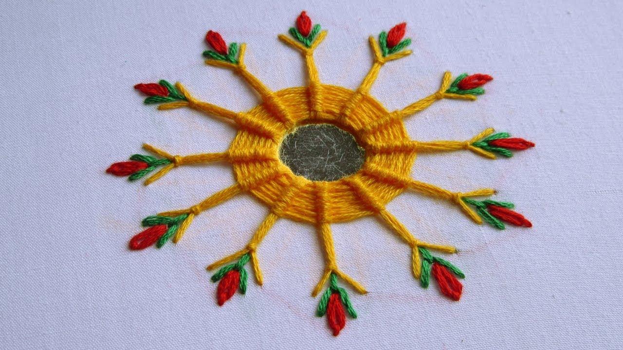 Spider Web Stitch Designs