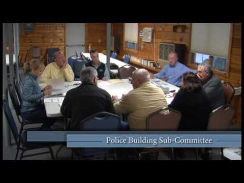 Police Station Building Sub-Committee Meeting, 5/11/17