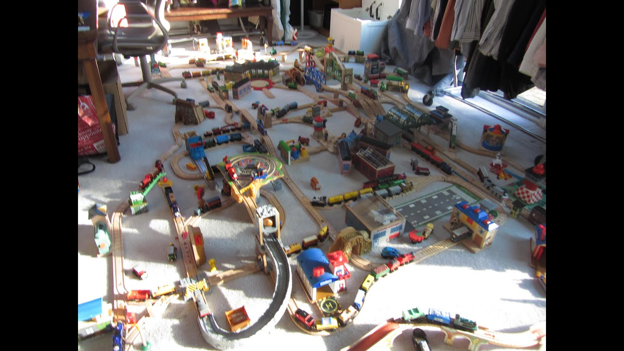 Woodenrailwayonly S Thomas Wooden Railway Layout 3