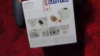 Распаковка Хлебопечки ZELMER ZBM 0900 W (43Z011)