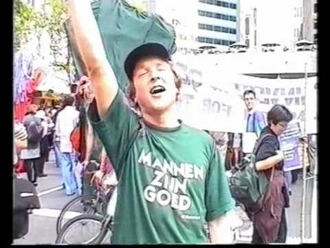 May Day 2000 - The Internationale sung in San Francisco