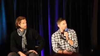 Supernatural Torcon 2014- J2 panel, acting