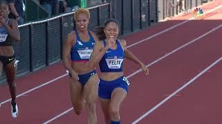 Allyson Felix 400m queen