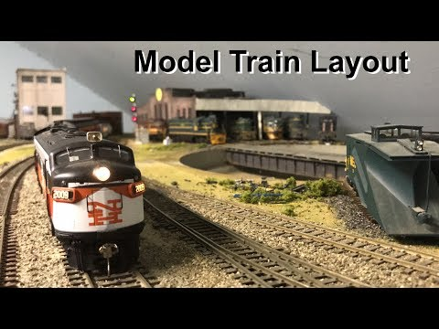 Incredible Model Train Layout!