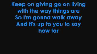 Martina McBride - How Far lyrics